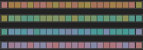 Test online de ordenación de colores