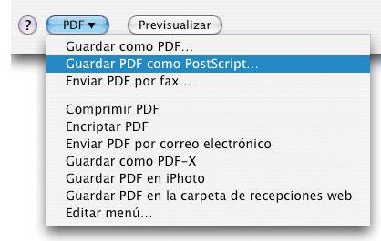 crear un pdf desde QuarkXPress - 8