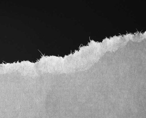 el sentido de la fibra del papel