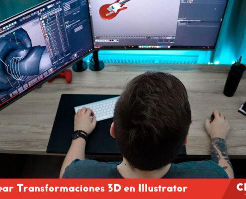 Cómo Crear Transformaciones 3D en Illustrator