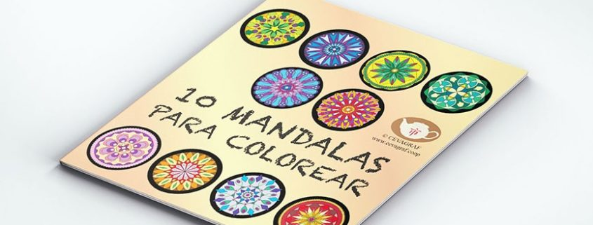 Colección de Mandalas para Colorear y Pintar