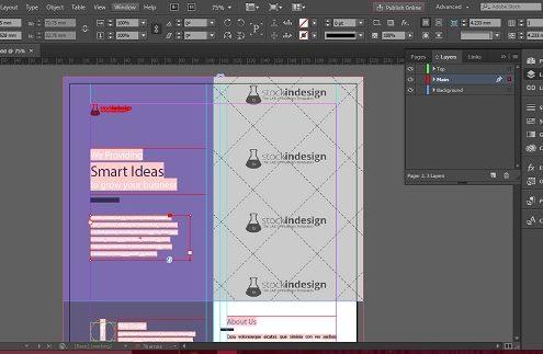 Panel de Capas de InDesign: todo lo que necesitas saber