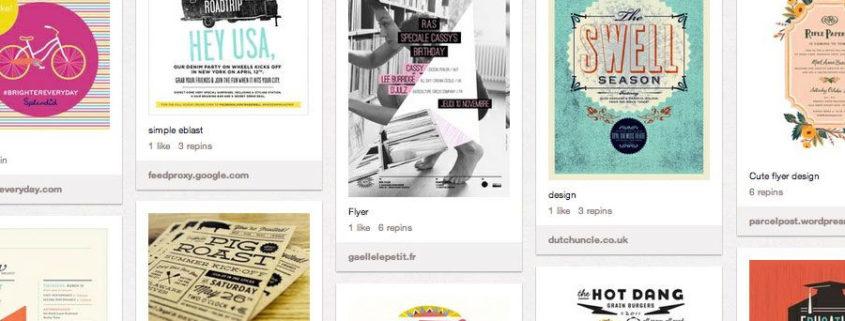 5 tableros de Pinterest sobre el mundo de la impresión