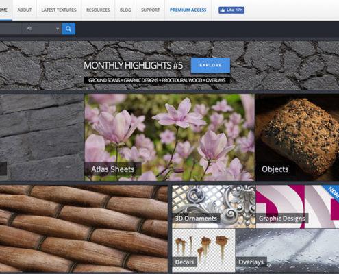 Texturas Photoshop en Alta Resolución: Textures.com