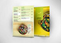 Productos impresos para bares y restaurantes
