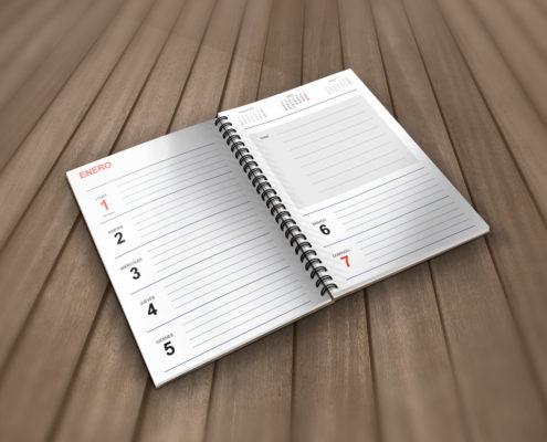Agenda 2018 Plantilla Gratis