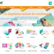 imprenta online cevagraf barcelona