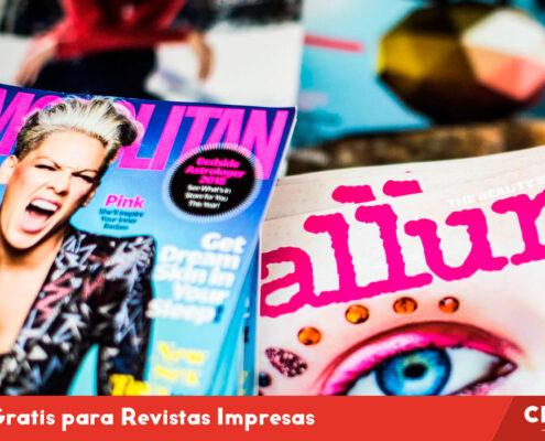 Fuentes Gratis para Revistas Impresas