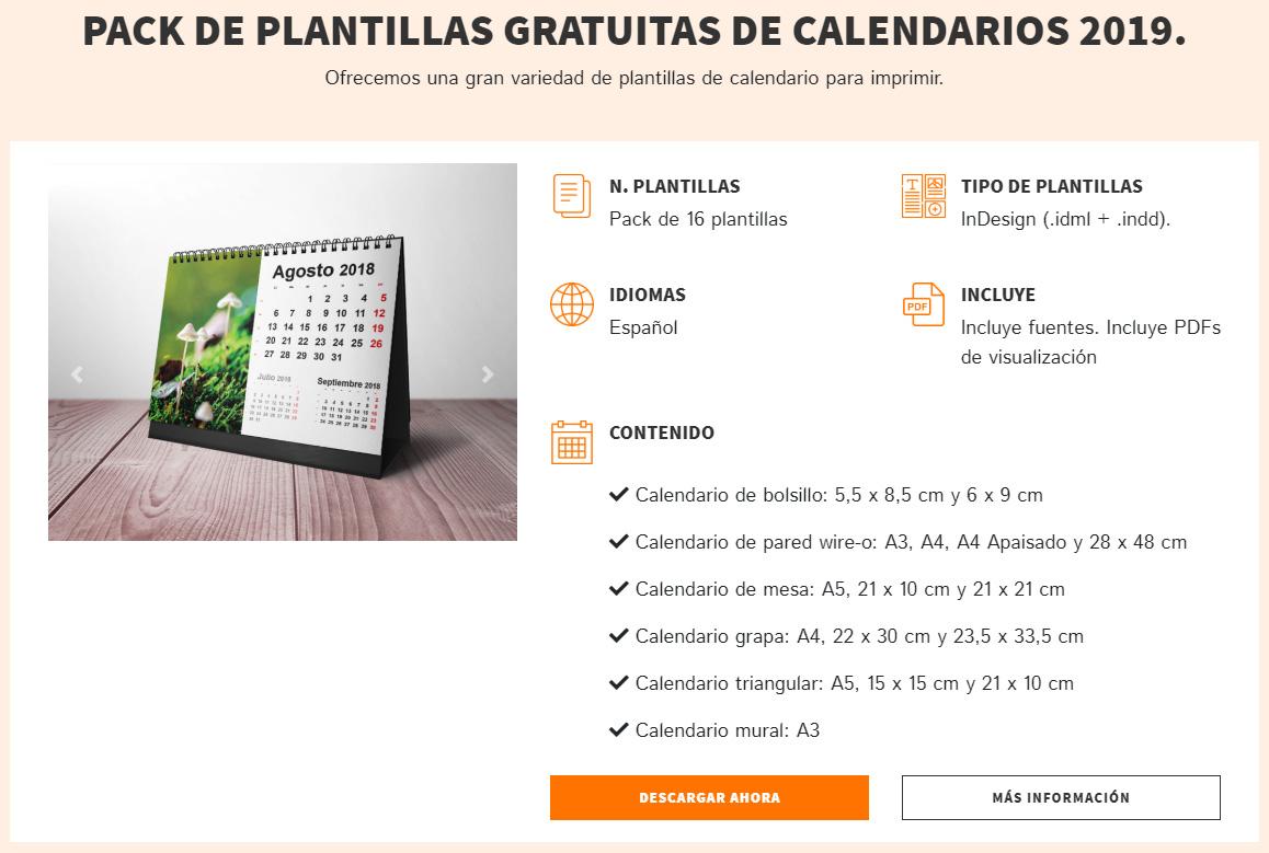 Cómo utilizar Plantillas Gratuitas de Calendarios