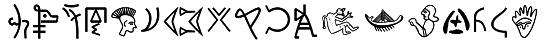 Tipografías Unicode de Escrituras Antiguas