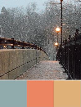 Paletas de colores navideños: 5 combinaciones de colores navideños