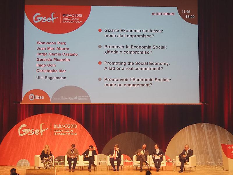 El GSEF se celebró en el Palacio Euskalduna, en Bilbao