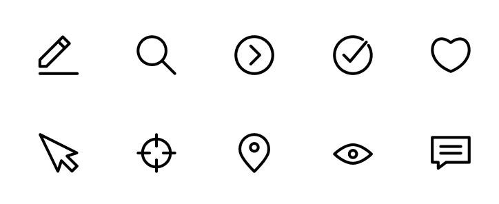 Iconos gratis de interfaz usuario