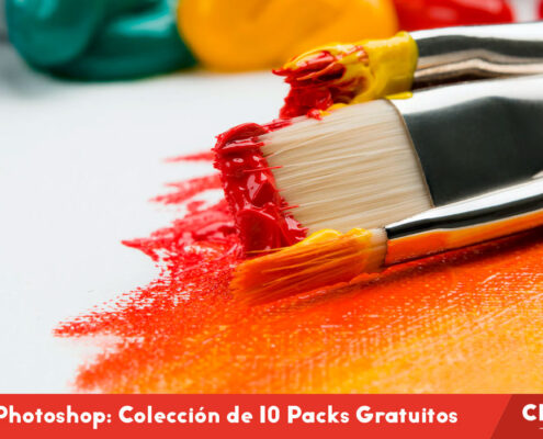 Pinceles Photoshop: Los 10 Packs Gratuitos más Espectaculares