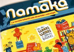 Impresión de la Revista Infantil Namaka