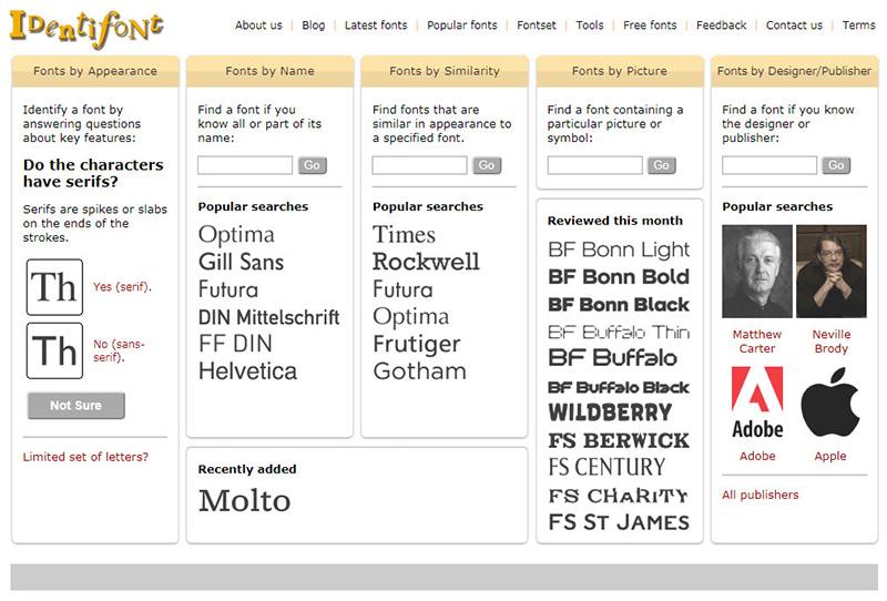 Cómo Identificar una Tipografía Online