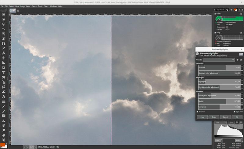 GIMP es un editor de fotos gratuito de código abierto