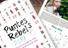 Calendario Puntes Rebels 2019 realizado para Filigrana Produccions