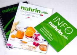 Nahrin España y sus diferentes productos impresos