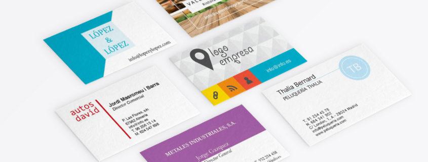 Plantillas De Tarjetas De Visita Gratis Para Imprimir