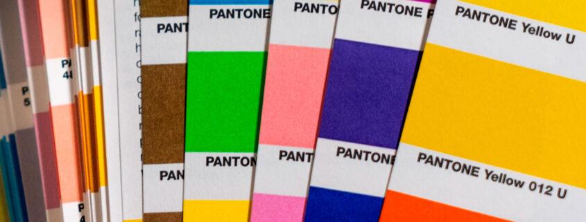 Cartas de Colores Pantone: Qué Són y Cómo Utilizarlas