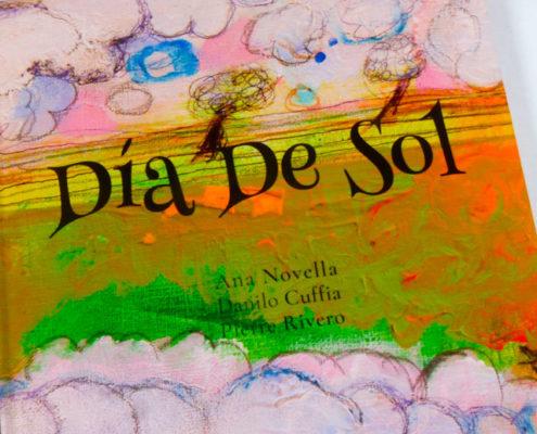 "libro infantil tapa dura ""Día de Sol"""
