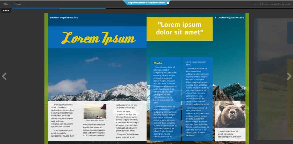 lucidpress online editor