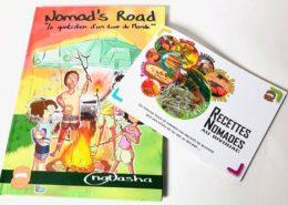 Cómic y recetario de Nomads Road