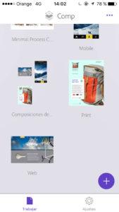 crear una tarjeta de visita con Adobe Comp CC