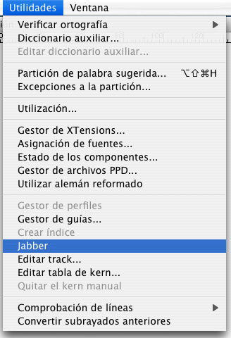 jabber teto falso en Quarkxpress