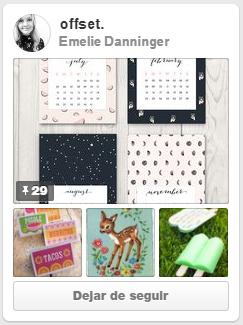 """Tablero """"offset"""" de Emelie Danninger"""