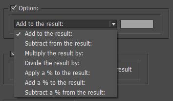 cálculos en tablas indesign