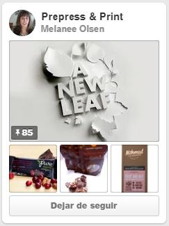 """Tablero """"Prepress & Print"""" de Melanee Olsen"""