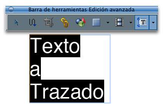 Trazar textos de un PDF