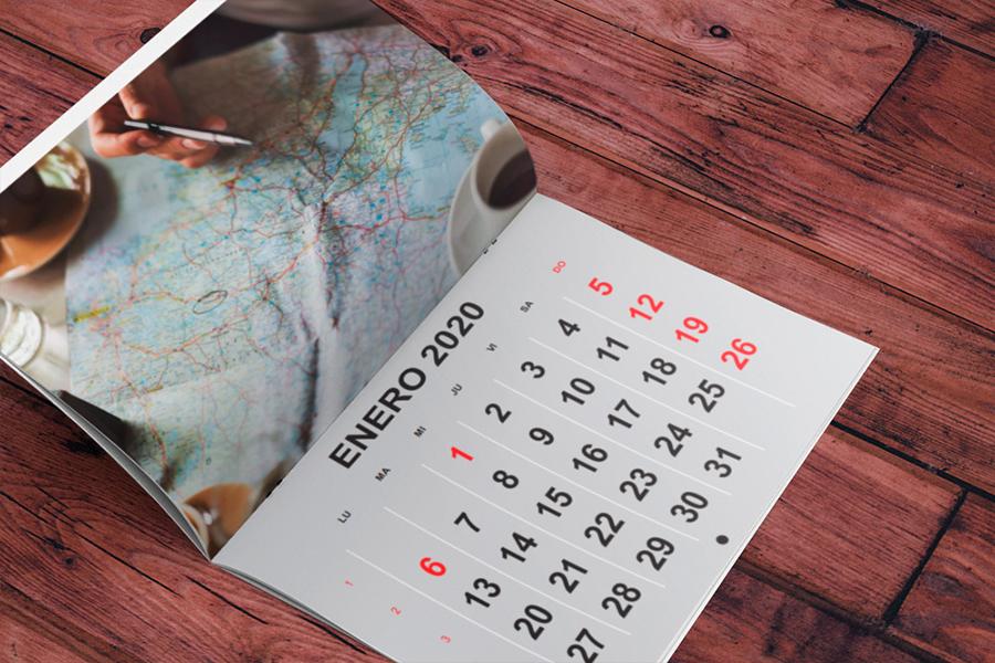 plantillas de calendario revista 2020