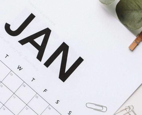 Plantillas de Calendarios 2020