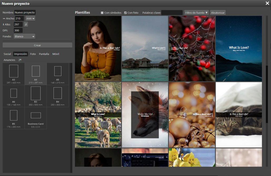 diseño online photopea