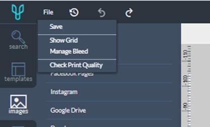 comprobar calidad de impresión al hacer folletos online