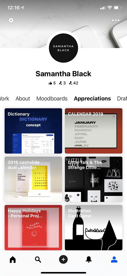 behance app diseño gráfico gratis