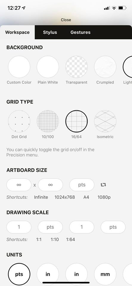 concepts app diseño gráfico gratis