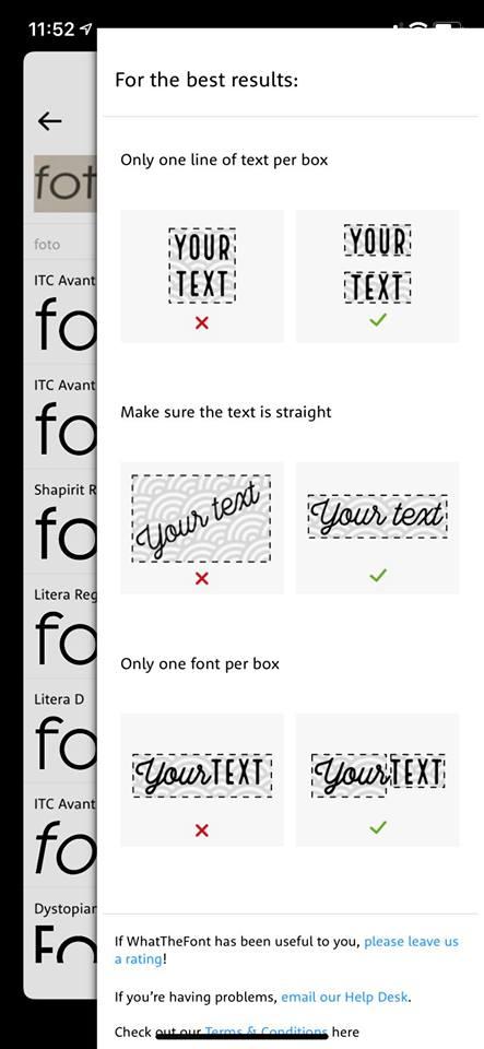 what the font app diseño gráfico gratis
