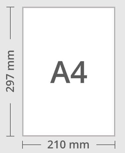 medidas din a4