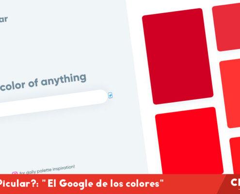 """¿Qué es Picular?: """"el Google de los colores"""""""
