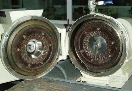 pasta mecanica discos desfibradores