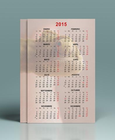 calendario de bolsillo 2015