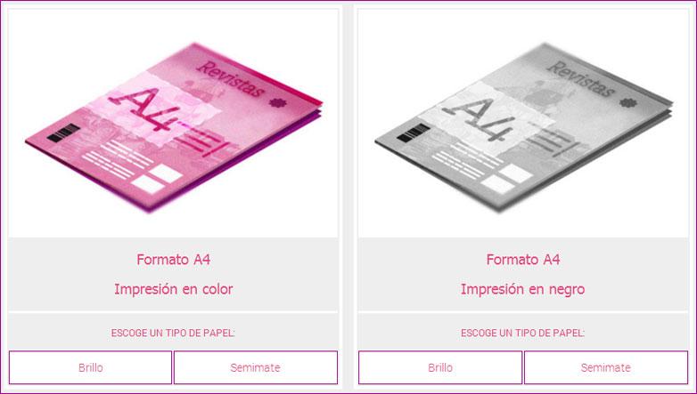 tinta y papel impresion digital online