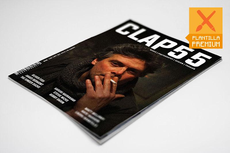 maquetación de revista CLAP55