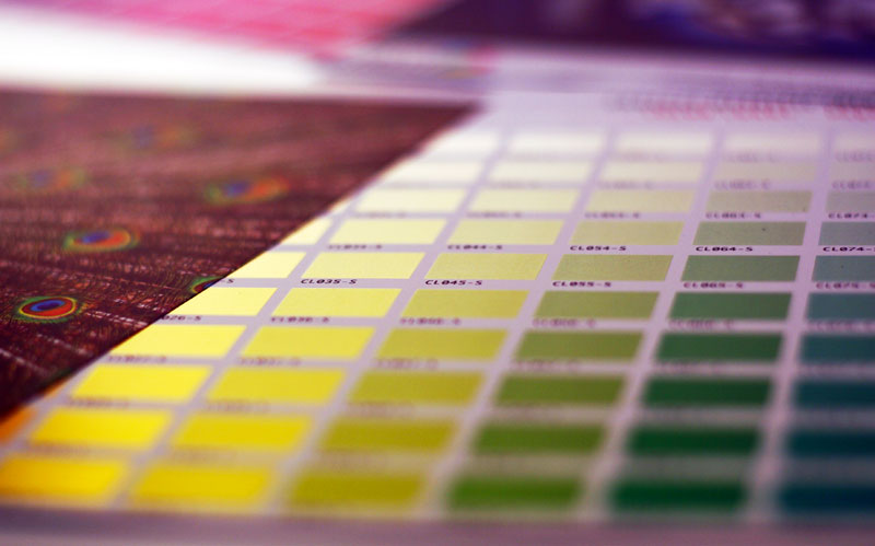 tintas de impresión digital