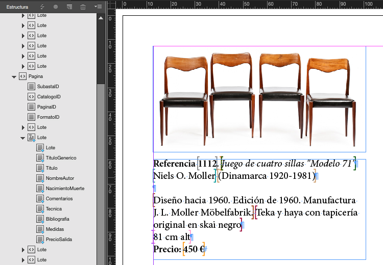catalogos indesign