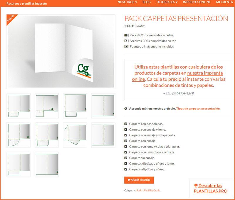 carpetas de presentación personalizadas
